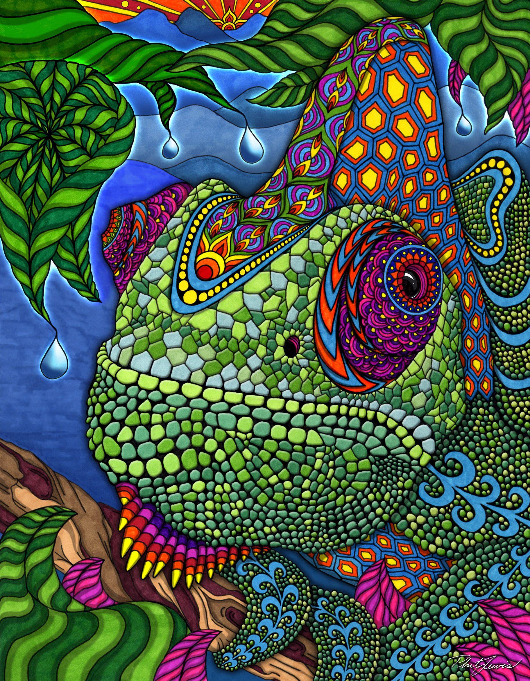 phil-lewis-chameleon