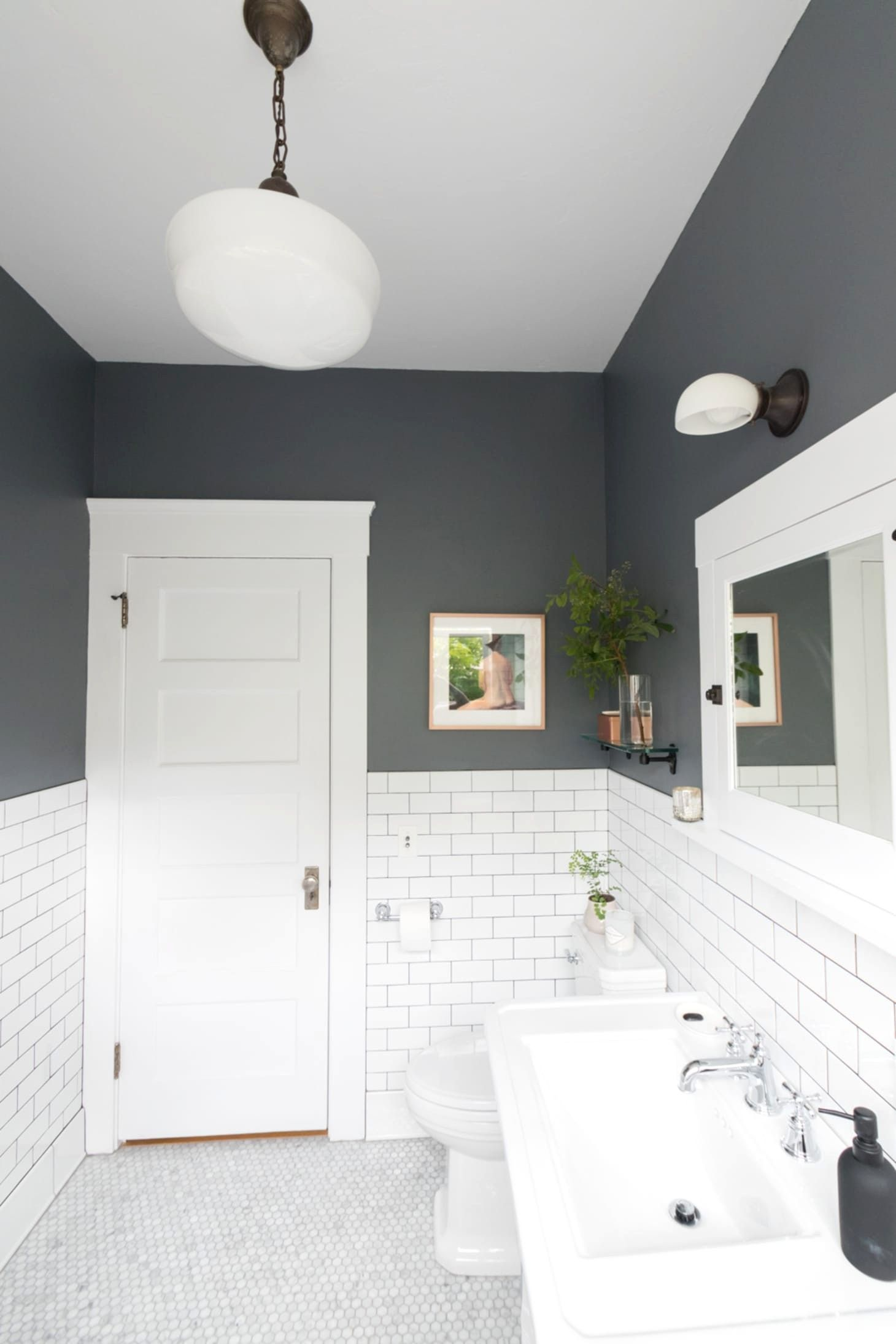 Best Bathroom Paint Color For Skin Bathroom Color Paint Skin In 2020 Small Bathroom Makeover Half Bathroom Remodel Small Bathroom Remodel
