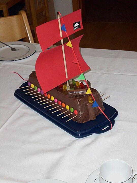 Piratenkuchen In 2019 Kindergeburtstag Cake Birthday Cake Und