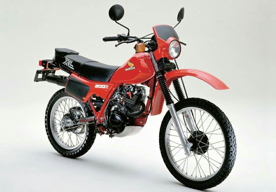 Honda Xl 200 Moto Enduro Motos Honda Honda