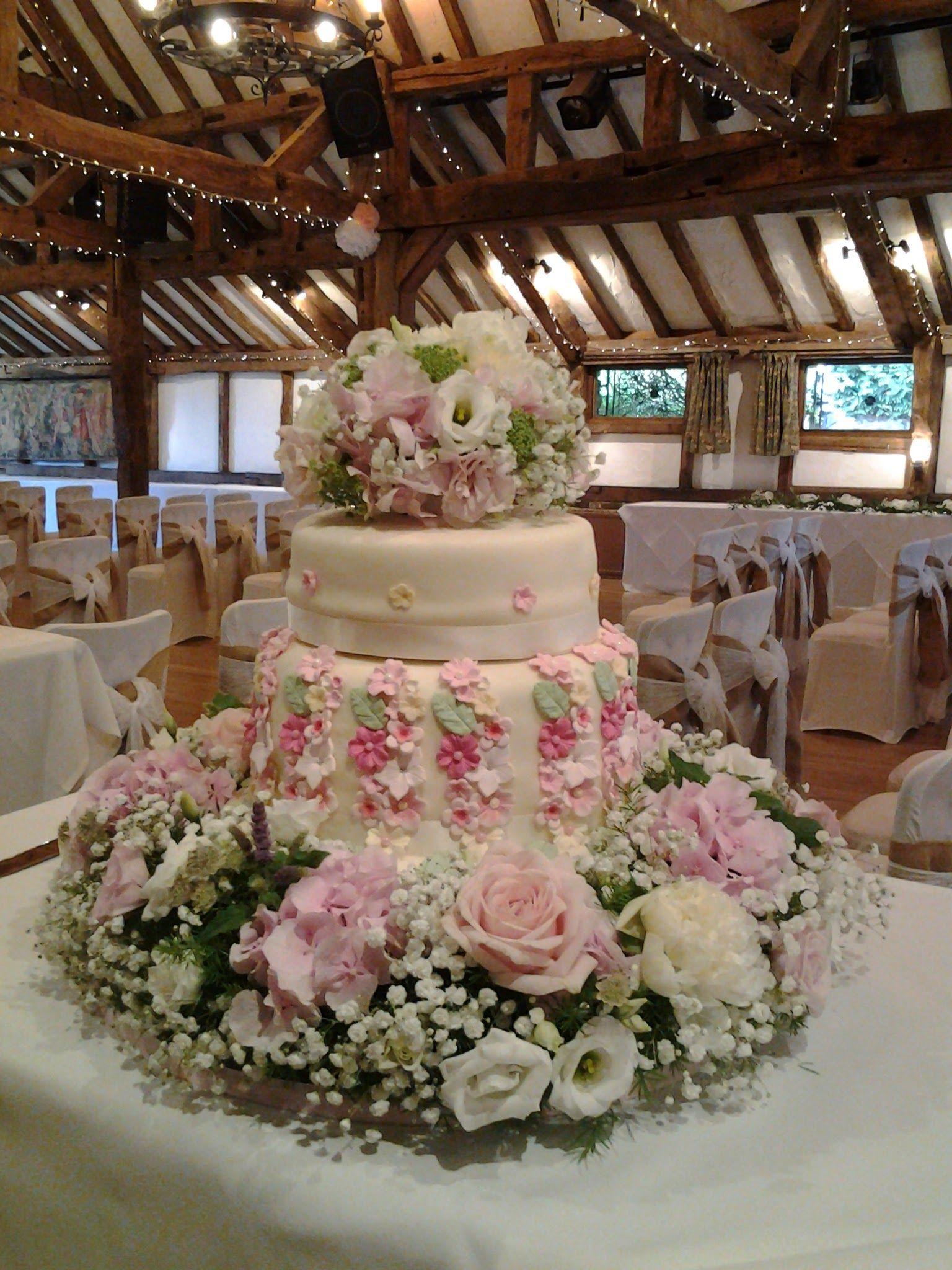 Ridiculously stunning, lavish cake flowers for a bespoke