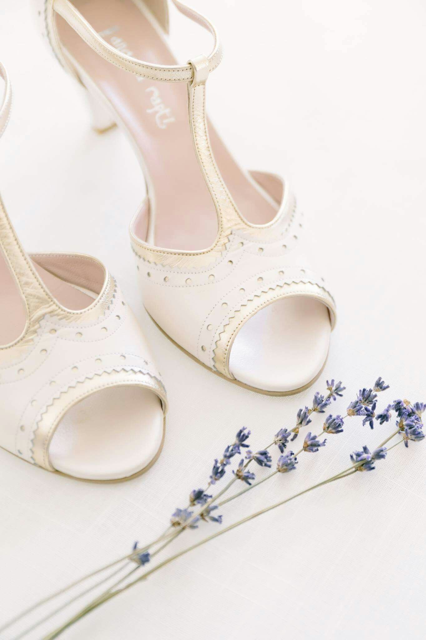 Handmade Wedding Shoes By Angela Rapti Story Day Pi