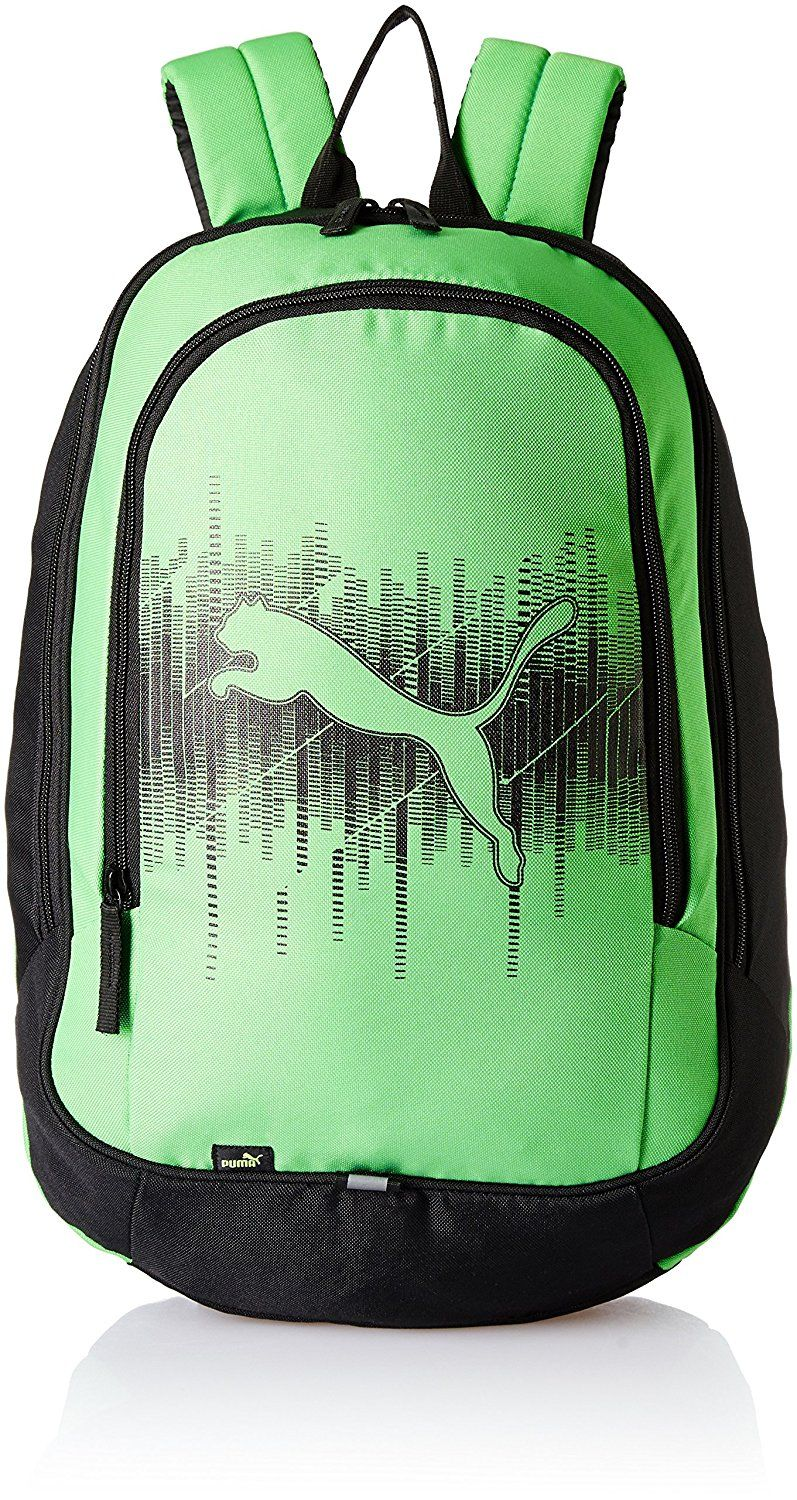 2e531d137a1 Puma Polyester 30 Ltrs Classic Green-Black Laptop Bag (7544803 ...