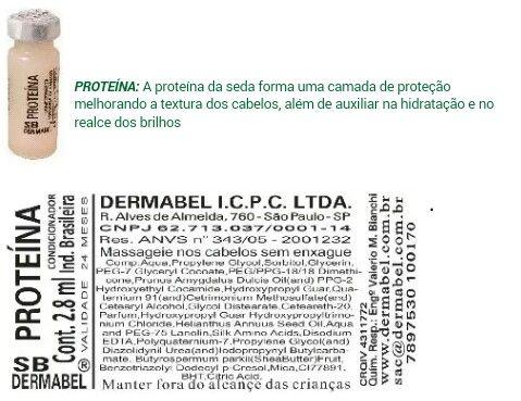 Proteina Vitamina Para Cabelo Loja De Produtos De Beleza
