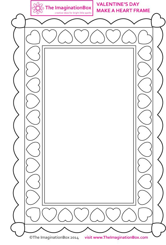 pinned from site directly~~ . . . heart-frame-outline   Lets Color ...
