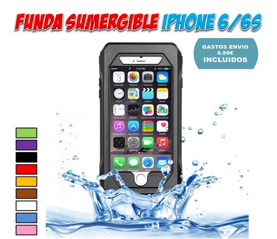 e9670760017 Fundas sumergibles e impermeables para iPhone 6 resistentes al agua IP68  Carcasa Iphone 6 Plus,