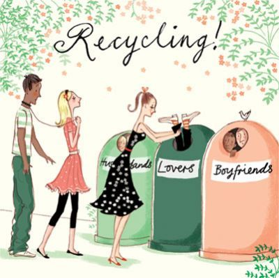 Recycling! , by Sarah Gibb