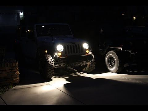 Diy Rock Lights Install On Jeep