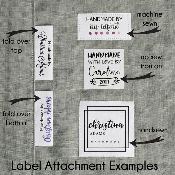 Fabric Tag, Personalized Label, Logo Label, Logo Tag