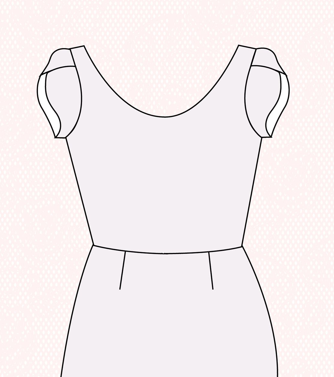 Block, Paper, Scissors: Make a feminine petal sleeve