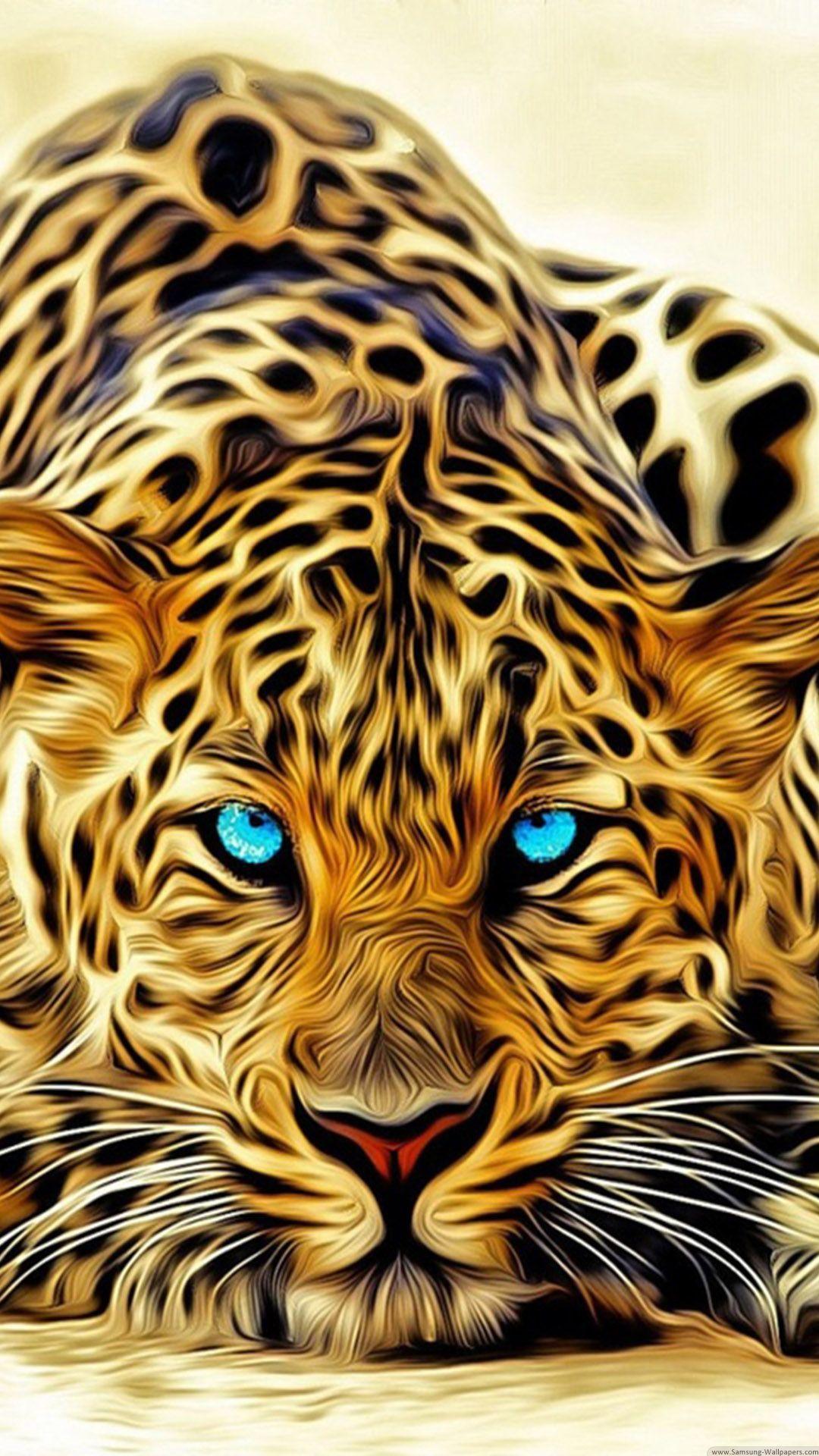 1080x1920 3d Animal Tiger Iphone 6 Hd Images Free Download Iphone Wallpapers Jaguar Wallpaper Animal Wallpaper Big Cats Art