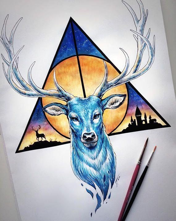 Always Original Drawing Fantasy Pencil Art Harry Potter