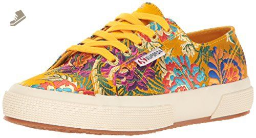 1201efba06b05 Superga Women's 2750 Korelaw Fashion Sneaker, Mustard, 39 EU/8 M US ...