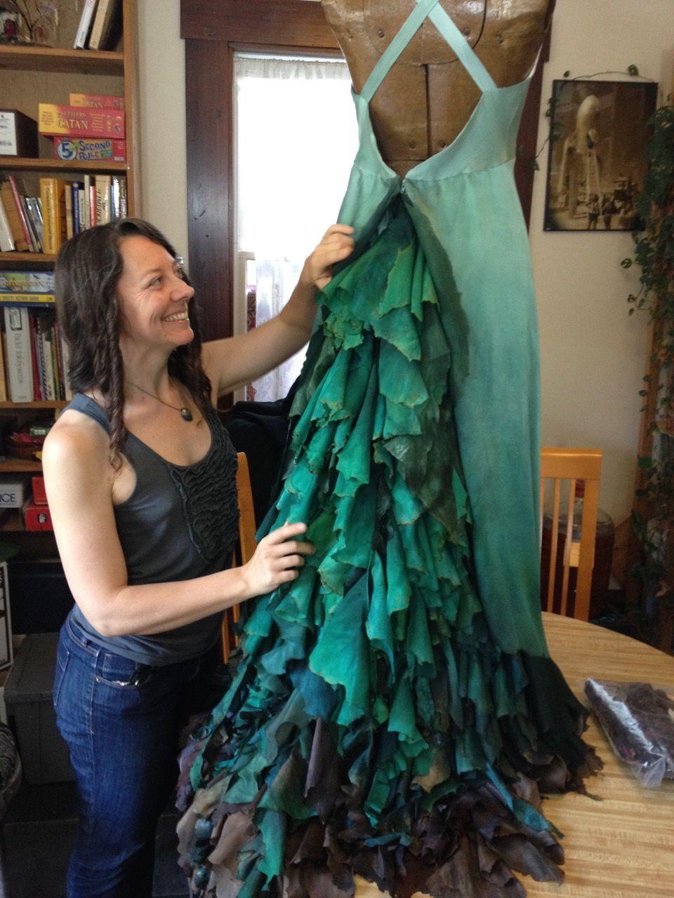 The Magic Forest Wedding Dress - a beautiful collaboration! | Magic ...
