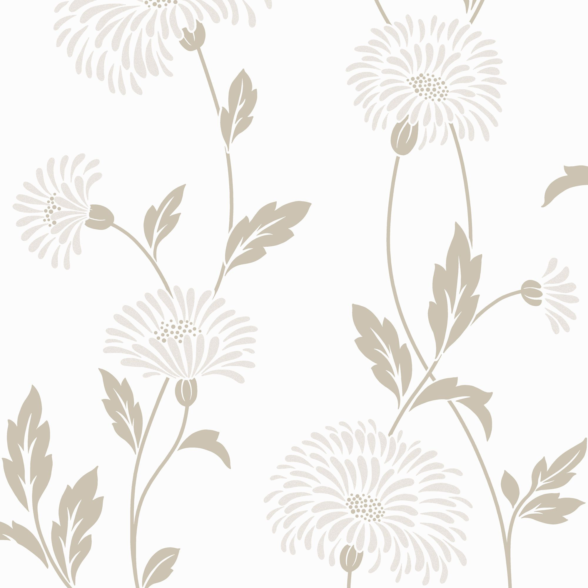 Arthouse Vintage Dazzle Cream Wallpaper Departments DIY At BQ
