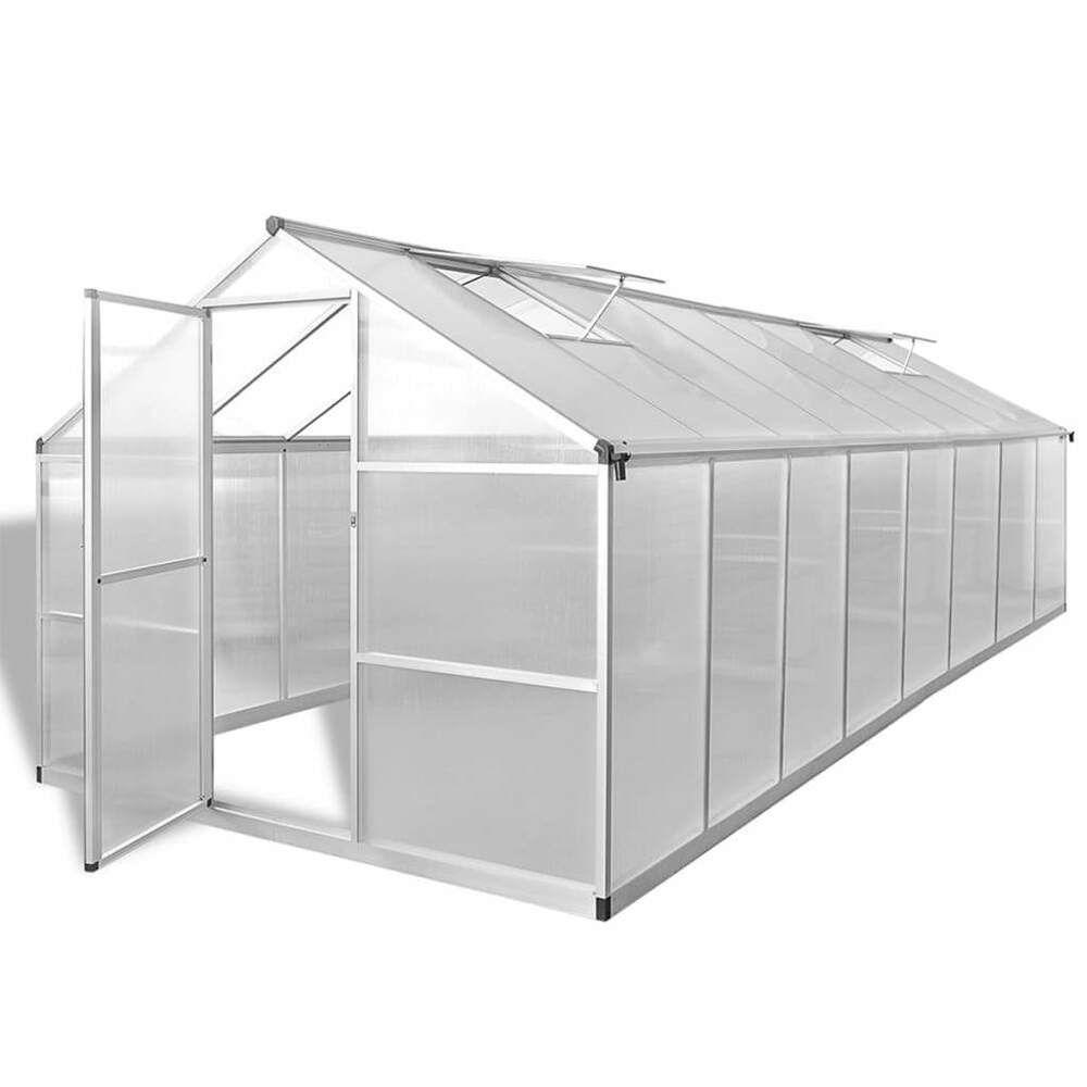 eBay #Sponsored vidaXL Gewächshaus Alu Treibhaus Tomatenhaus Pflanzenhaus mehrere Auswahl #sonnenschutzterrasse