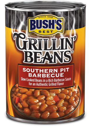 Southern Barbecue Pulled Pork With Beans Recipe Bush S Beans Steakhouse Recipes Barbecue Pulled Pork Baked Beans