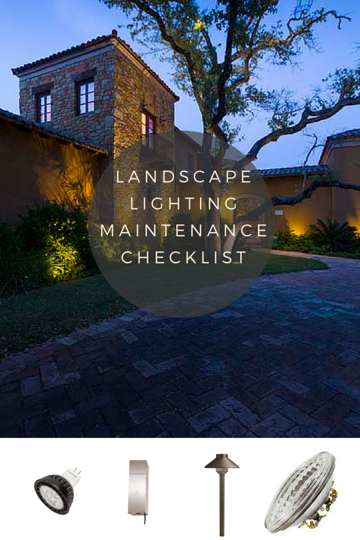 A Checklist For Maintaining Your Low Voltage Outdoor
