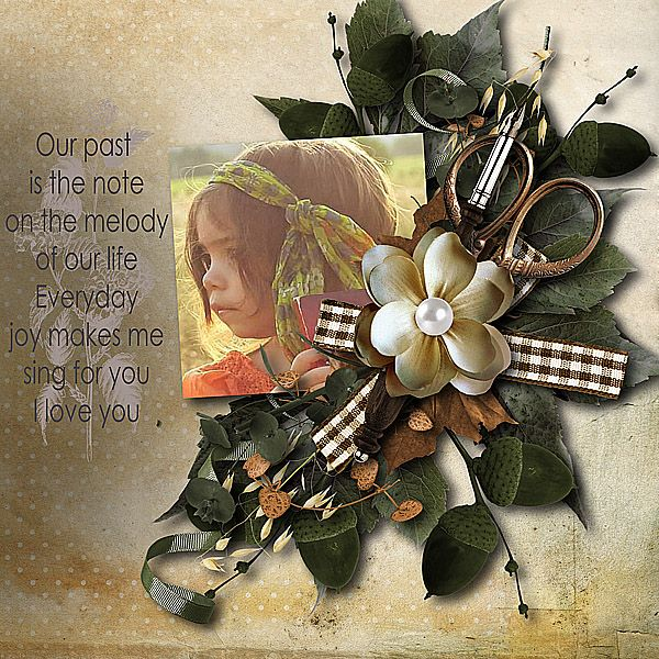 """kit """"Our past"""" by Aurélie Scrap  http://www.myscrapartdigital.com/shop/index.php?main_page=product_info&cPath=24_66&products_id=2881  Template used Cherry Taste by Didine Design Let Creativity Run Loose http://www.digiscrapbooking.ch/shop/index.php?main_page=product_info&cPath=22_175&products_id=10919"""