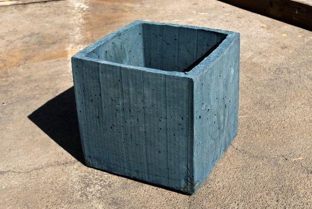 Diy Concrete Planter Box Garden Pinterest Diy Concrete