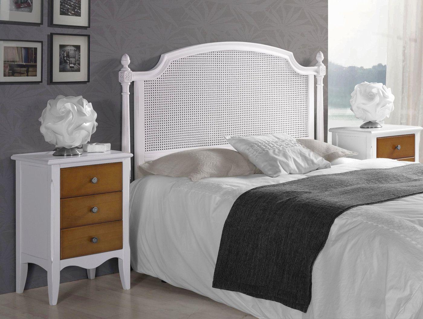 Dormitorio con cabecero rejilla y madera - haya | Rejas, Cabecero y ...