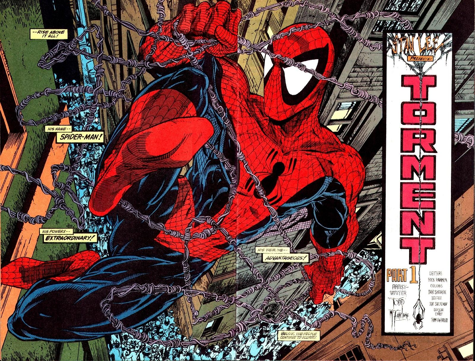 Comic Book Artist Todd Mcfarlane Abduzeedo Graphic Design Inspiration And