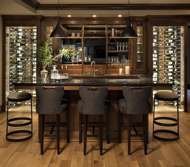 Interior Design Ideas Home Bar:  Interior Design Ideas : Modern English Tudor Design In 2020