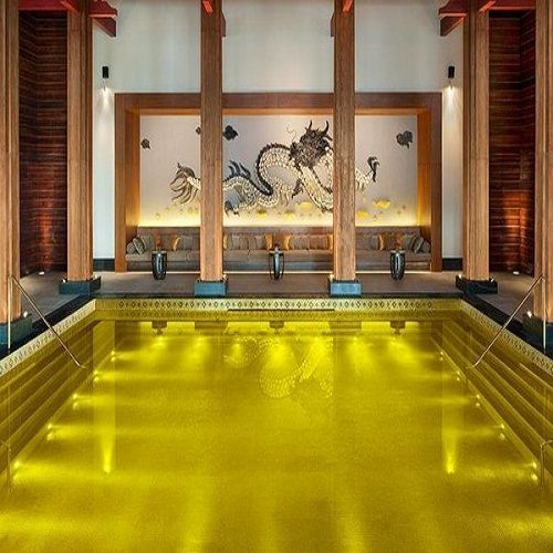 Gold Energy Pool - Tibet.