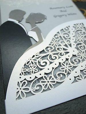 80-Silver Double Happiness Wedding Invitation Envelope Sticker Seals-Heart Shape