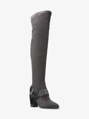 08ff64e40b40 MICHAEL MICHAEL KORS Brody Over-The-Knee Suede Boot.  michaelmichaelkors   shoes  boots