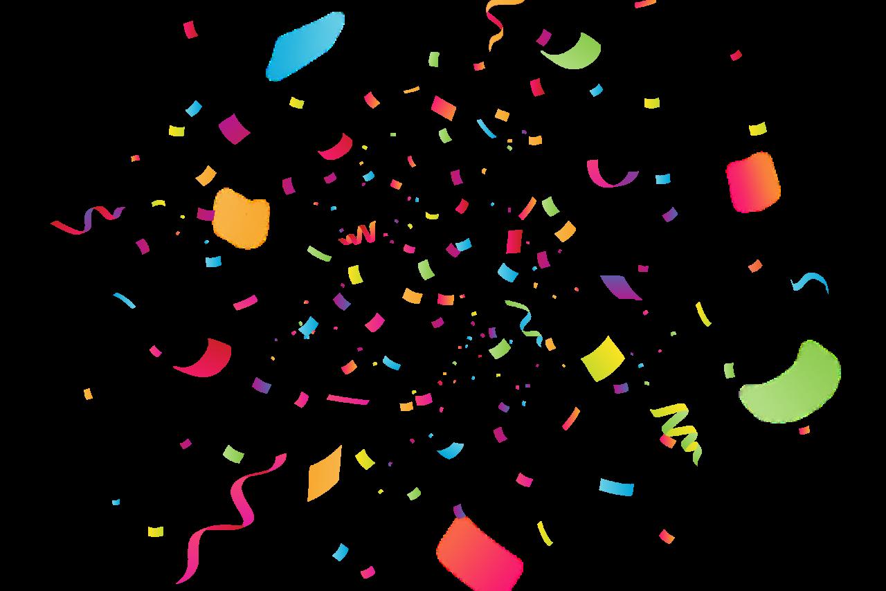 Celebration Confetti With Blur Png Image Confetti Background Indian Wedding Album Design Confetti