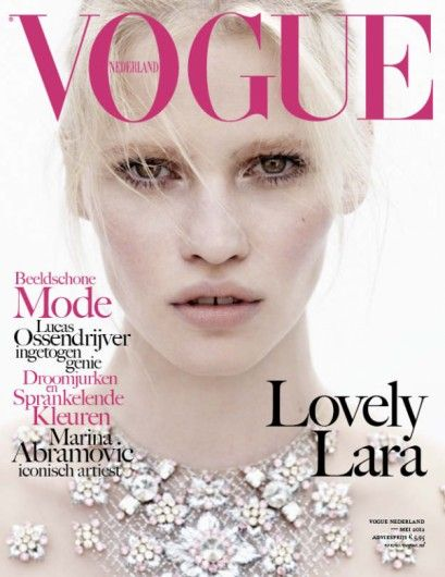 Vogue May 2012 with Lara Stone