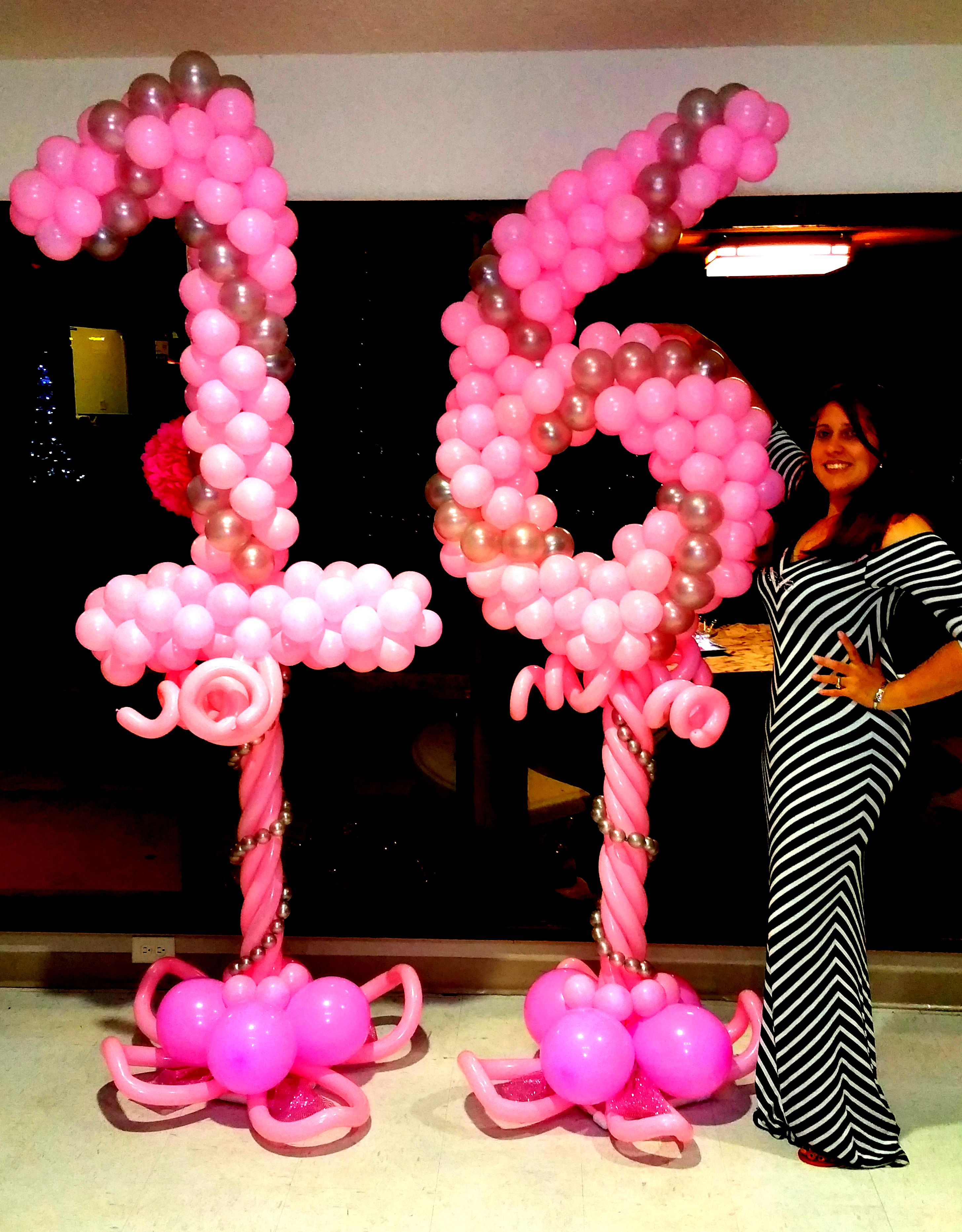 Cafecito events balloon decorations sweet 16 birthday for 16th birthday decoration