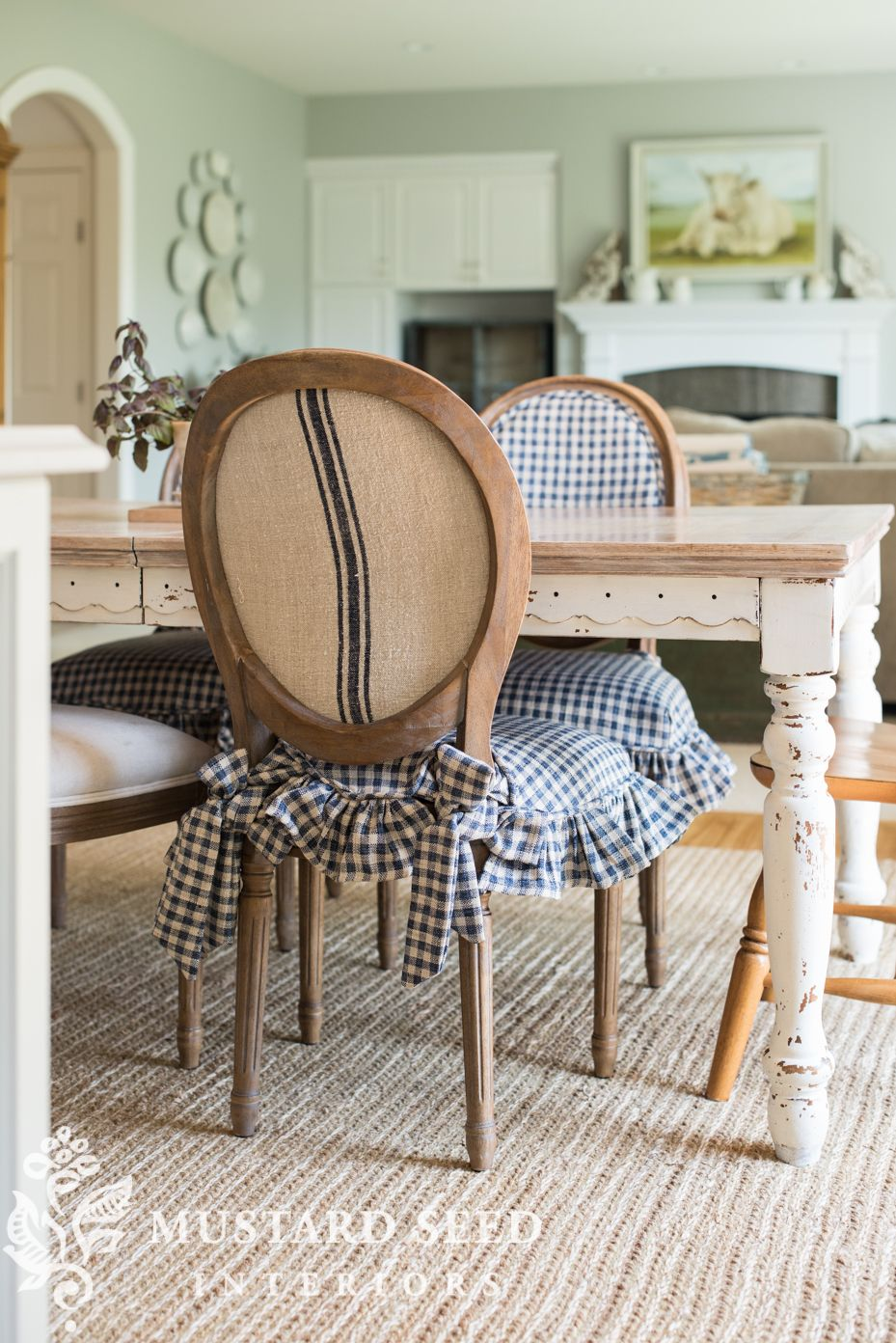 Cottage Style Kitchen Chairs Pair Of Chair Makeovers The Best Farmhouse Home Decor Inspiration Miss Mustard Seed Missmustardseed Farmhousestyle Upholstery Frenchchairs