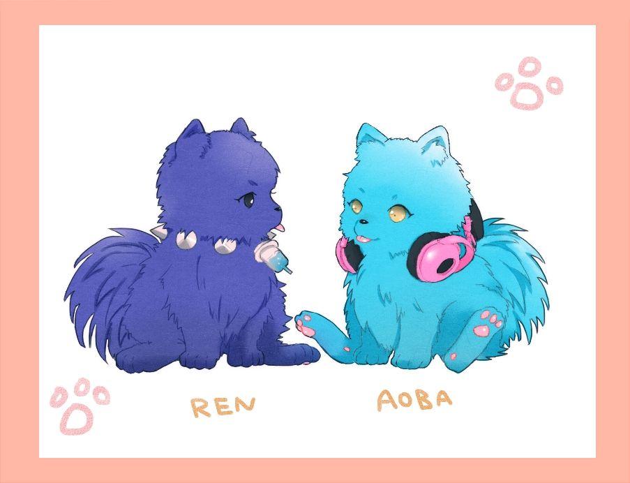 Aoba & Ren from Dramatical Murder