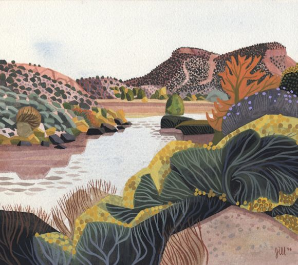 New Mexico Landscapes by Jill