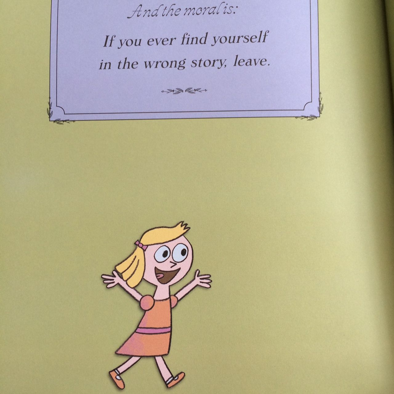 From Goldilocks Amp The Three Dinosaurs By Mo Willems
