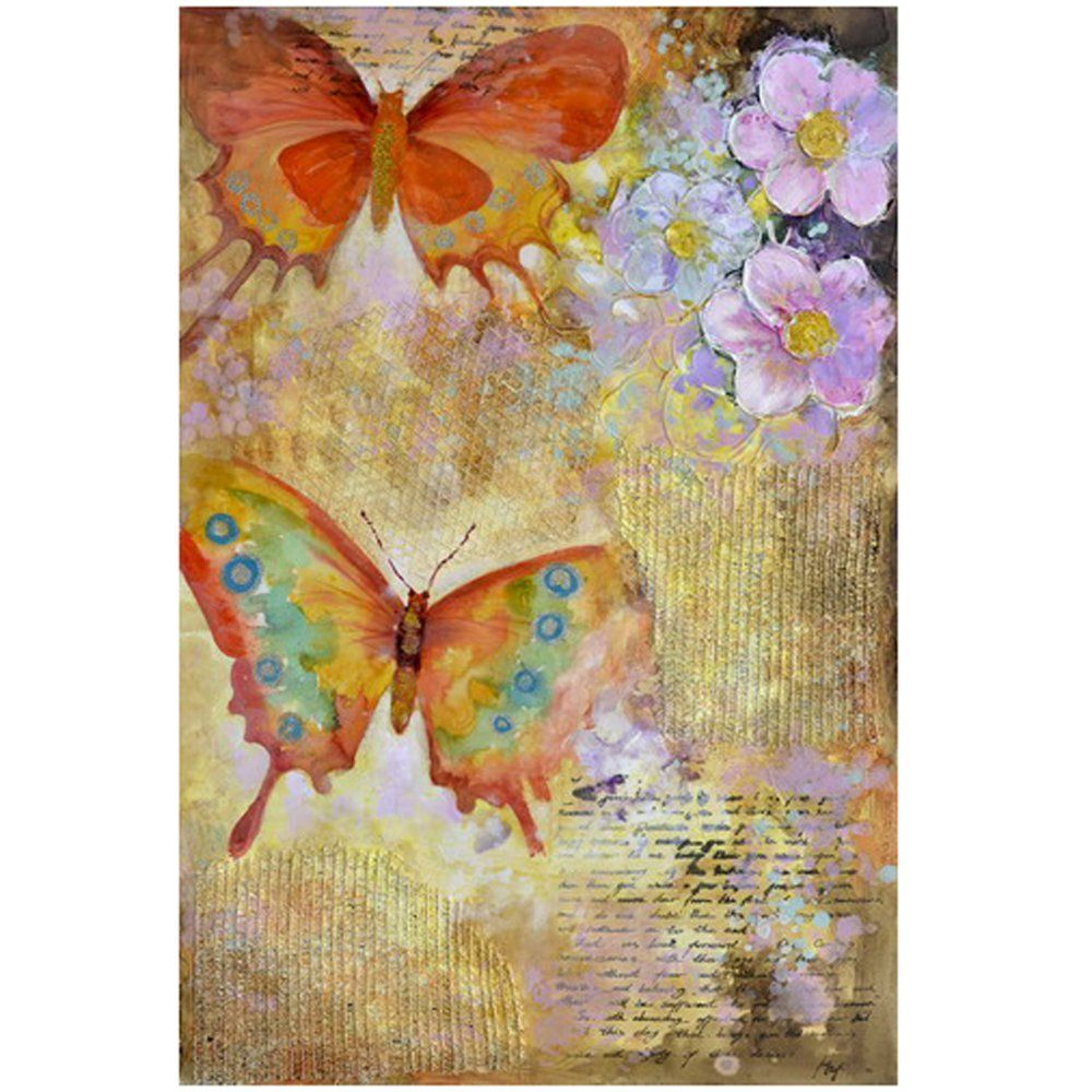 Yosemite Home Décor Butterfly Garden I - 31W x 47H in. - Wall Art at ...
