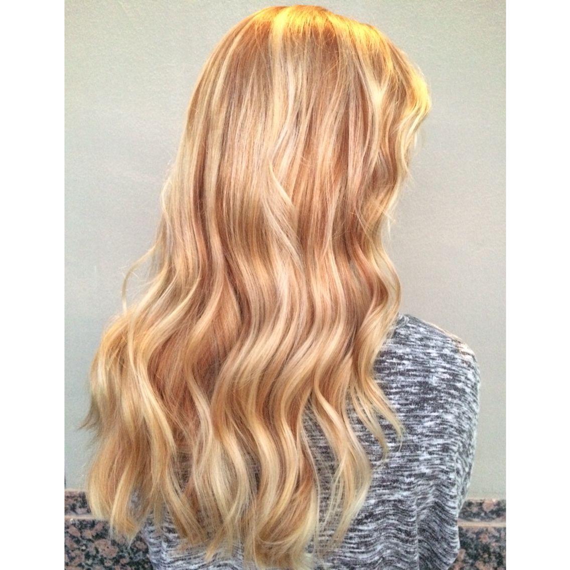 Strawberry Blonde Balayage Blonde Balayage Blonde Dye Apricot Hair