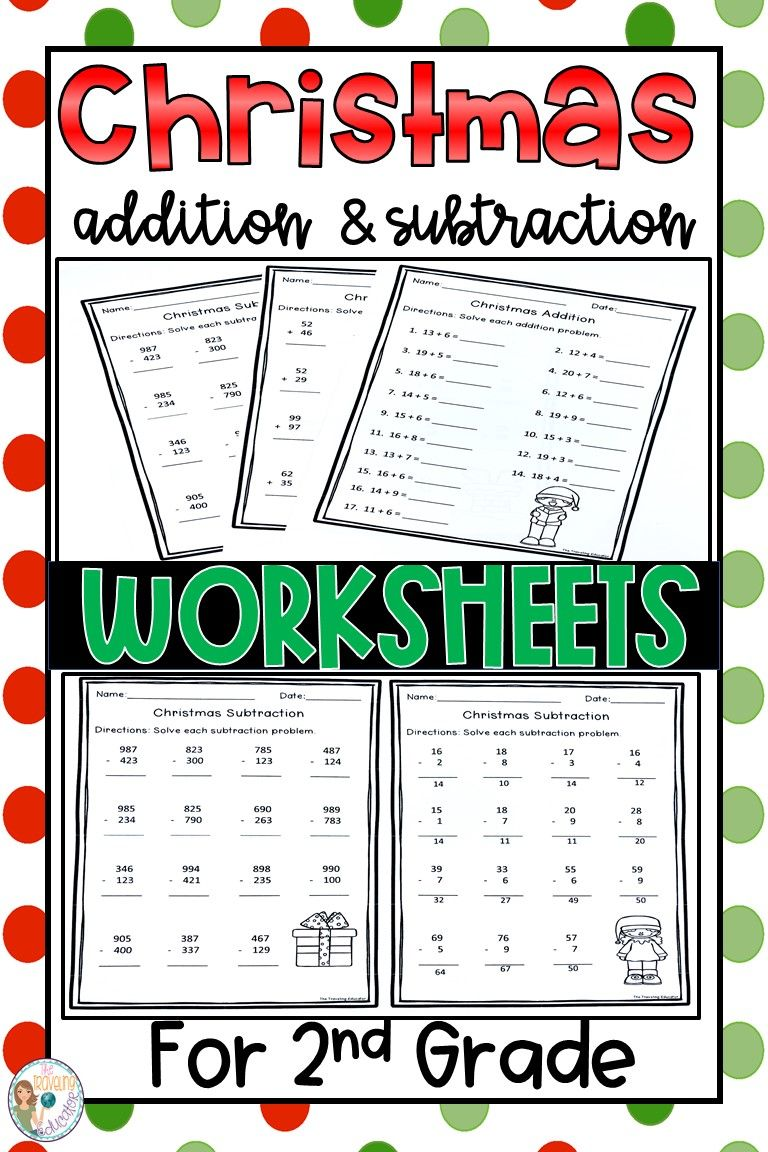 Christmas Addition And Subtraction Worksheets Addition And Subtraction Worksheets Subtraction Worksheets Addition And Subtraction Free christmas addition and subtraction