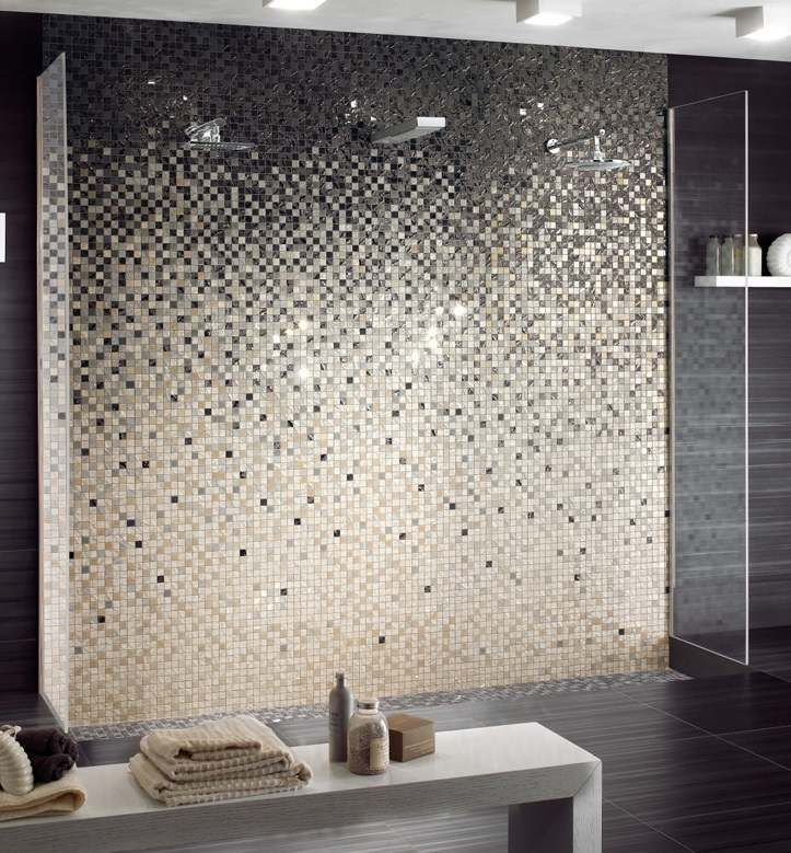 Rev tement mural salle de bain 55 carrelages et for Carrelage wc gris