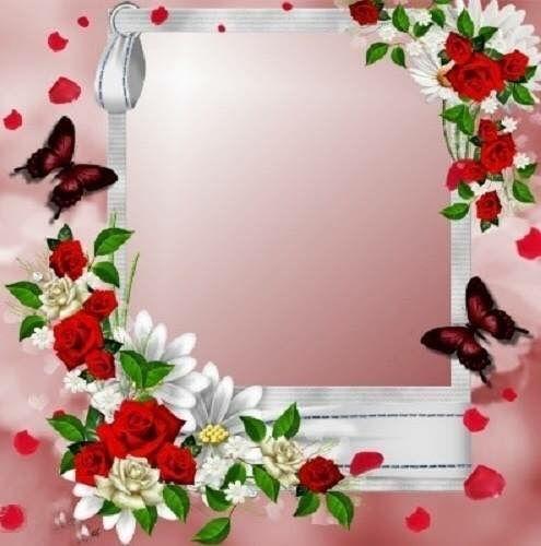 Day Valentines Frames Rose Frame Happy Birthday Frame