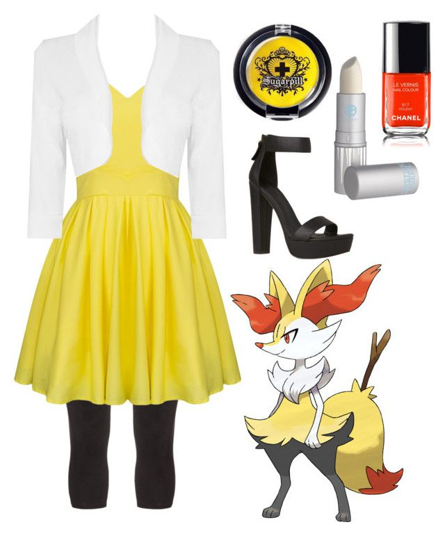 """""""Braixen"""" by wyld-beastie ❤ liked on Polyvore"""