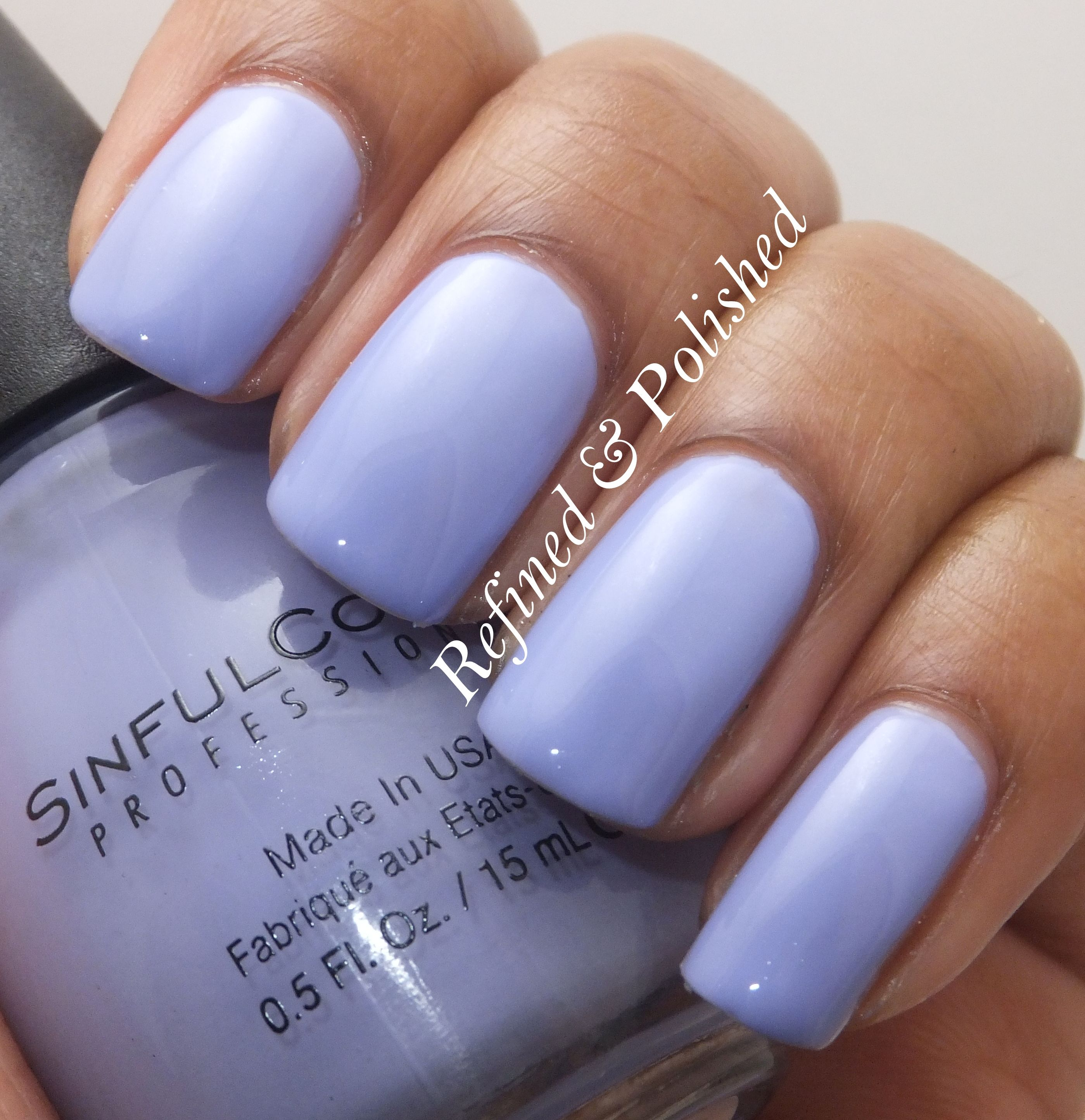 Sinful Cotton Candy Nail Polish: Sinful Colors Candy Coated