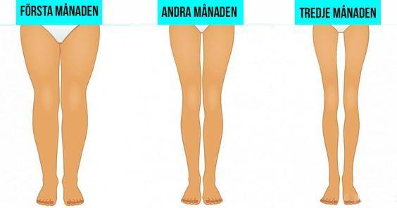 få slanka ben