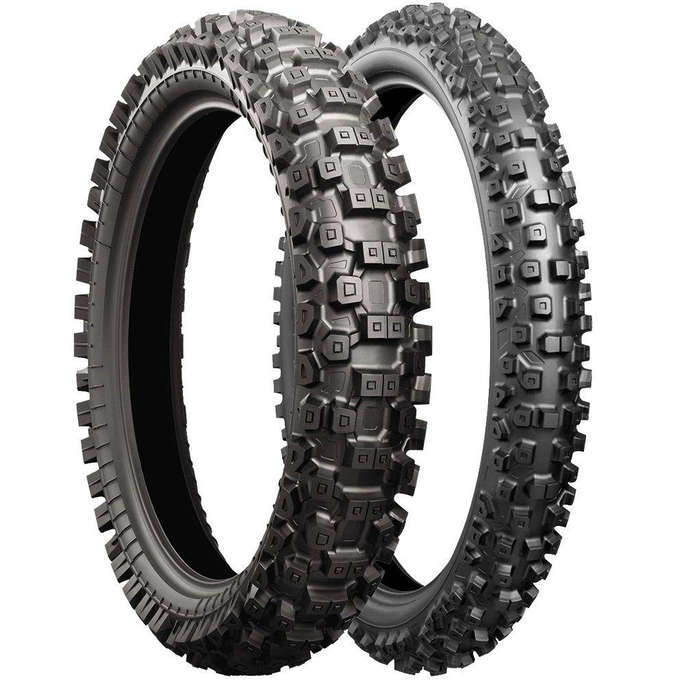 Bridgestone Battlecross X30 110 100 18 Rear 80 100 21 Front Intermediate Tyre Set At Mxstore Bridgestone Tire Motorcycle Parts And Accessories