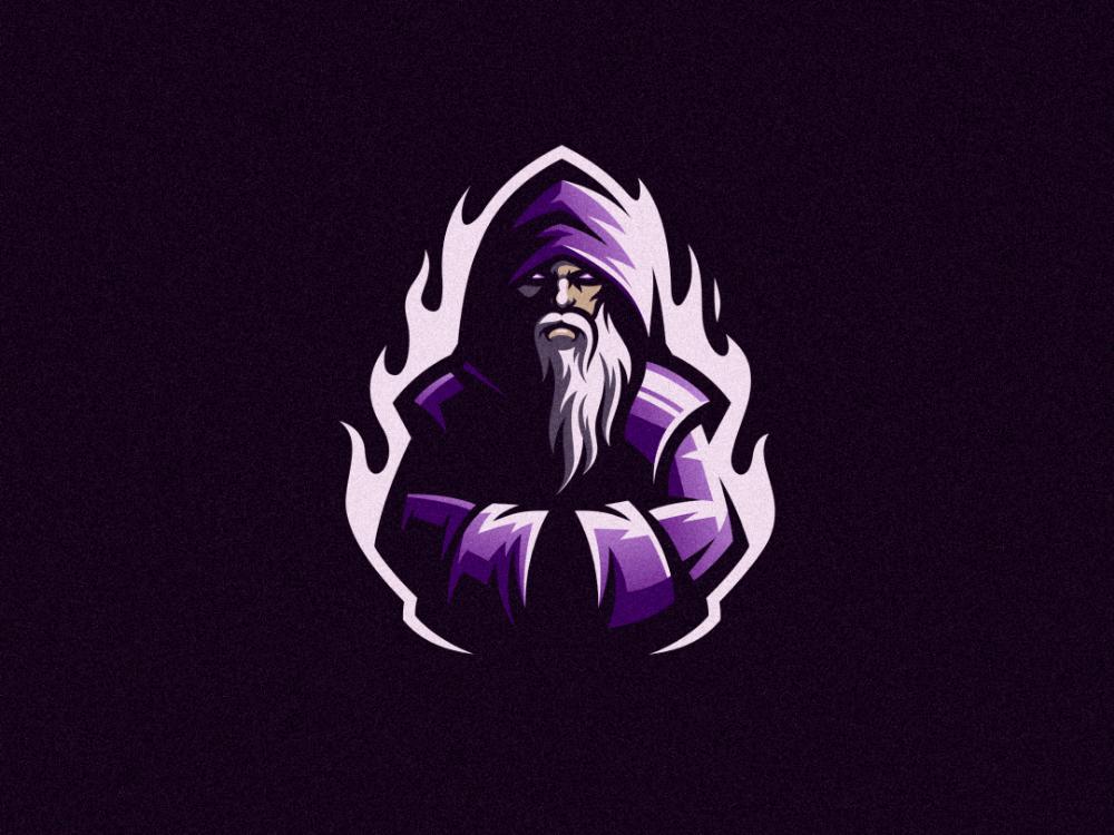 Wizard Logo Design Art Wizards Logo Game Logo Design