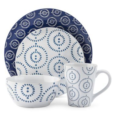 JCPenney Home™ Tangier 16-pc. Dinnerware Set found at @JCPenney  sc 1 st  Pinterest & JCPenney Home™ Tangier 16-pc. Dinnerware Set found at @JCPenney ...