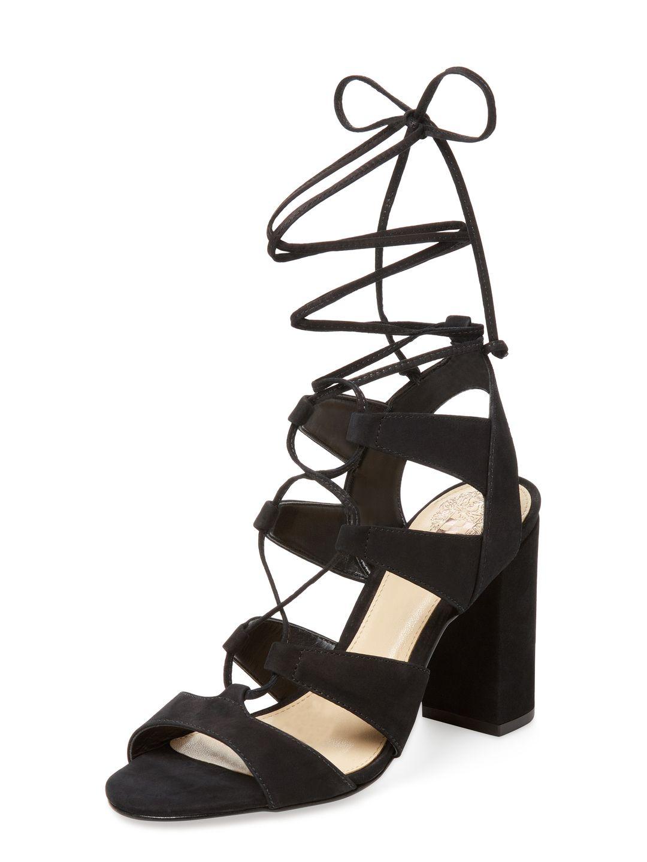 e47e0f45fbf5 Vince Camuto Winola Nubuck Lace-Up Sandal