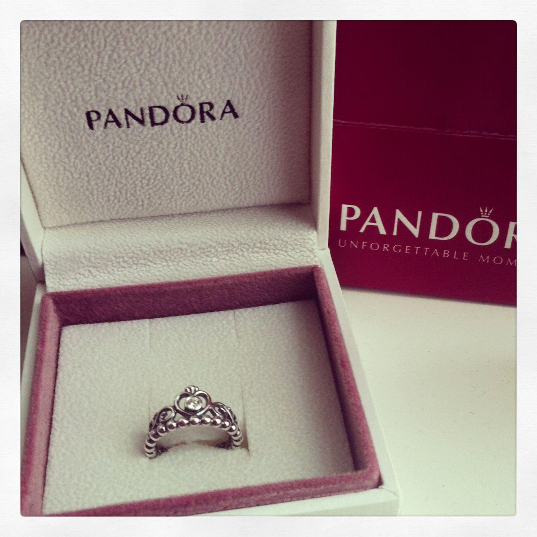 53f65652b My Pandora Princess Tiara Ring! Anniversary gift? Yes :) | Jewelry ...
